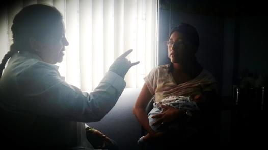 Las indicaciones de la pediatra de cabecera