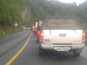 Vía Alóag-Santo Domingo-Esmeraldas