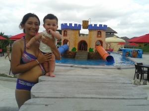Mateo y su mamà